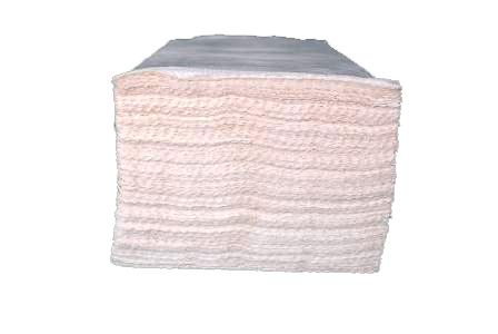 Бумажные полотенца листовые, целлюлозные. PRv-160 .