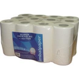 Бумажные полотенца, ролевые (рулонные). ESTETIC. 401709