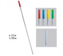 Рукоятка  алюминиевая 130 см*22 мм. ALS285.