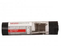 PRO Пакети для сміття 240 л, 50  мк, (чорні) 2 шари. 16207200
