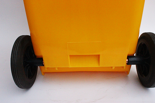 Бак для сміття  жовтий,120л. 120A-9Y