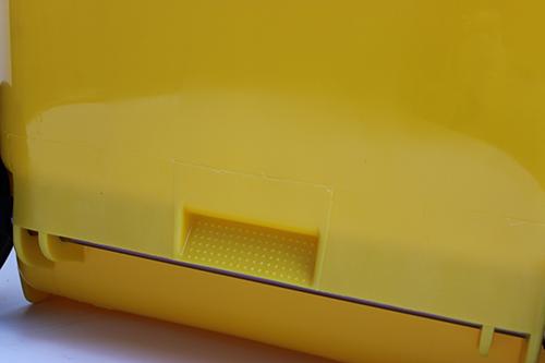 Бак для сміття  240л., жовтий. 240H2-19Y