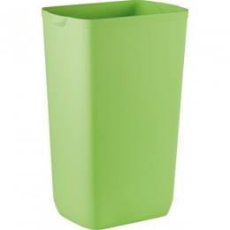 Урна для сміття пластик зелений 23 л. 742VE.