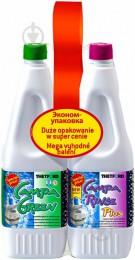 Комплект средств  для биотуалета  Campa Green + Campa Rinse Plus, 1.5 л