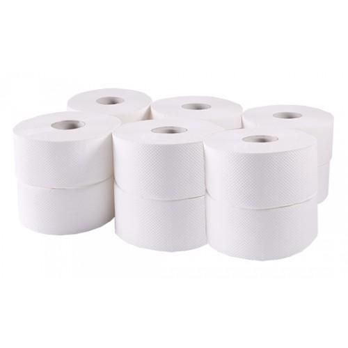 Туалетная бумага рулонная, целлюлоза. Джамбо. B-202