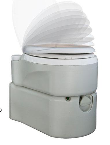 Биотуалет кассетный, поршневой смыв+водоснабжение. 3924TI