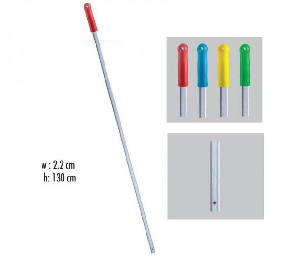 Рукоятка  алюминиевая с отверстием 130 см*22 мм. ALS285.