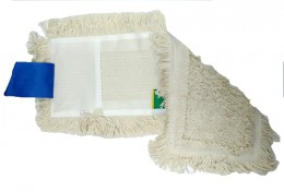 МОП универсальный (вкладыш) с карманами и с отворотами  для уборки пола 50 см. NZS029WP