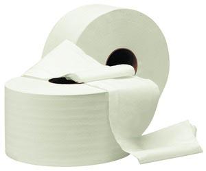 Туалетная бумага рулонная, целлюлоза. Джамбо. С-90