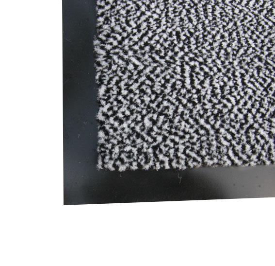 Полипропиленовый грязезащитный  коврик 40*60, серый. 1022527
