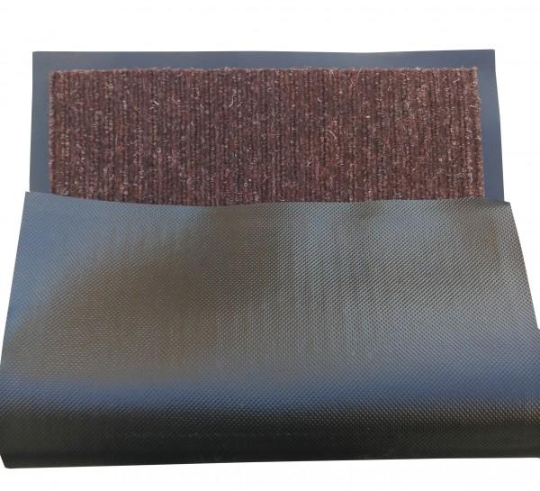 Грязезащитный коврик Дабл Стрипт, 90*150 шоколад. 1022520