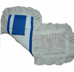 МОП (вкладыш) с карманами  для  уборки пола 40 см. NZE046WP.