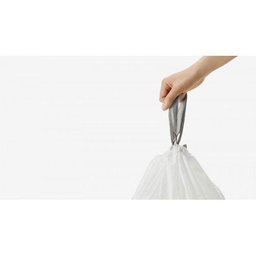 Мешки для мусора плотные с завязками 30-45 л SIMPLEHUMAN. CW0259