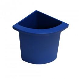 Разделитель урны для мусора синий  ACQUALBA. 546BLUE