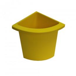 Разделитель урны для мусора желтый  ACQUALBA. 546Y