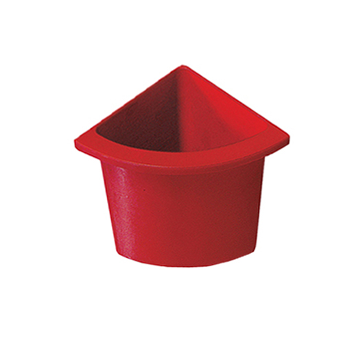 Разделитель урны для мусора красный  ACQUALBA. 546R