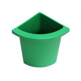 Разделитель урны для мусора зеленый  ACQUALBA. 546GR
