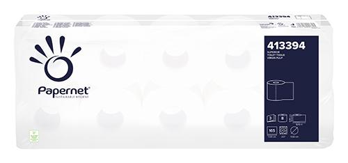 Туалетная бумага, целлюлоза. 3 слоя. 413394
