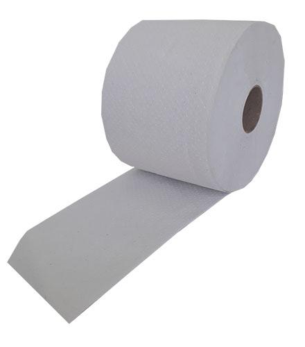 Туалетная бумага Mildi De Luxe Maxi двухслойная 65 м 200 отрывов 9 рулонов Белая. K-65