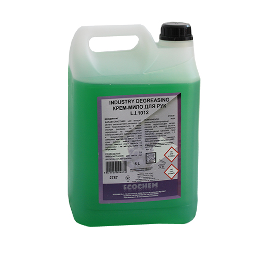 Мыло-крем жидкое INDUSTRY DEGREASING L.I.1012 5 л. 0710120L0053607