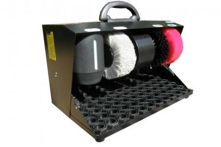 Автоматическая машинка для чистки обуви. Мини.  БЕЗ КОНТЕЙНЕРА ДЛЯ КРЕМА.